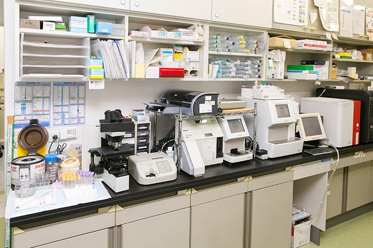 各種血液検査設備
